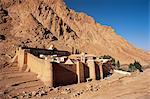 St. Katharinen Kloster, UNESCO-Weltkulturerbe, Sinai, Ägypten, Nordafrika, Afrika