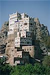 Vieux été Palais de Iman Yahya, Dar Al Hayjar (Yémen), Moyen Orient