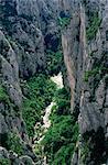 Grand Canyon de la rivière Verdon, Alpes de Haute Provence, Provence, France, Europe