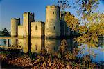 Bodium Castle, Bodium, East Sussex, England, United Kingdom, Europe