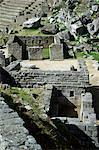 Principal temple, Inca site, Machu Picchu, UNESCO World Heritage Site, Peru, South America