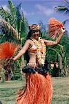 Hula dance in Kapiolani Park, Waikiki, Hawaii, Hawaiian Islands, Pacific, United States of America, North America