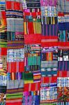 Patchwork quilt, San Antonio Aguas Calientes, au Guatemala, Amérique centrale