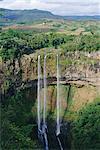 Chamarel Waterfalls, Mauritius, Indian Ocean