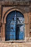 Doorway, Sidi Bou Said, Tunisia, North Africa, Africa