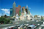 New York Hotel New York, réplique taille du tiers original building, Las Vegas, Nevada, États-Unis d'Amérique, Amérique du Nord