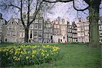 Begijnhof, Amsterdam, Holland (The Netherlands), Europe