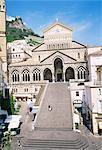 Amalfi cathedral, Amalfi, Campania, Italy, Europe