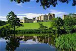 Alnwick Castle, Alnwick, Northumberland, England, UK