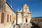 La cathédrale de Victoria, Rabat, la mère de toutes les églises de Gozo, Gozo, Malte, Europe