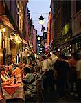 Outdoor restaurants, Brussels, Belgium, Europe