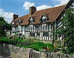 Mary Arden's House, Stratford-upon-Avon, Warwickshire, England, United Kingdom, Europe