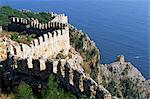 Partie de l'encerclement 8kms encerclant long mur, Alanya, Anatolie, Turquie, Asie mineure, Eurasie