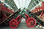 Barrows marché Covent Garden avant de re-développement, Londres, Royaume-Uni, Europe