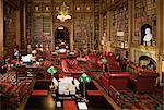 La bibliothèque de seigneurs, maisons du Parlement, Westminster, Londres, Royaume-Uni, Europe