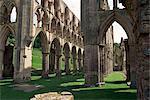 Rievaulx Abbey, Yorkshire, England, United Kingdom, Europe