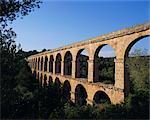 Aqueduc romain, Tarragona, Costa Dorada, Catalogne, Espagne