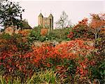 Automne, Sissinghurst Castle, Kent, Angleterre, Royaume-Uni, Europe