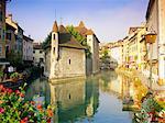 Palais de l'Isle, Annecy, Haute-Savoie, Rhone Alpes, France, Europe
