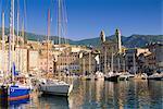 Bastia Harbour, Corsica, France, Europe