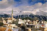 St. Moritz, haute-Engadine, Grisons région des Alpes suisses, Suisse, Europe