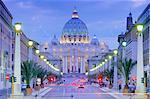 St. Peter's, Vatican, Rome, Lazio, Italy, Europe