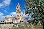 Santissima Trinita di Saccargia, région de Logudoro, Sardaigne, Italie, Europe
