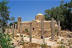 Colonnes et ruines de St. Pauls Church, Paphos, Chypre, Europe