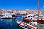 La Maddalena harbour, Sardinia, Italy, Europe