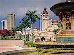 Sultan Abdul Samad Building, Kuala Lumpur, en Malaisie, Asie