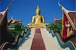 Temple de Bouddha d'or, Koh Samui, Thailande, Asie