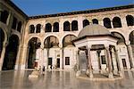 Omeyyades (omeyyade) mosquée, Site du patrimoine mondial de l'UNESCO, Damas, Syrie, Moyen-Orient