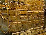 Goldschmuck zu verkaufen in Souq, Damaskus, Syrien, Naher Osten
