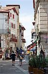 St. Jean de Luz, Basque country, Pyrenees-Atlantiques, Aquitaine, France, Europe