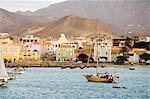 Harbour of Mindelo, Sao Vicente, Cape Verde Islands, Atlantic Ocean, Africa