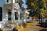 Church Street, Woodstock, Vermont, États-Unis d'Amérique