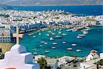 La ville de Mykonos, Mykonos, Grèce