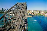 Sydney Harbour Bridge, Sydney, New South Wales, Australie