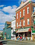 Thames Street, Newport, Rhode Island, États-Unis d'Amérique