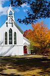 North Conway, New Hampshire, New England, États-Unis d'Amérique, l'Amérique du Nord