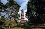 Die Pagode in den Royal Botanic Gardens in Kew (Kew Gardens), UNESCO Weltkulturerbe, London, England, Vereinigtes Königreich, Europa
