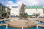 Monument de la libération, Saint-Hélier, Jersey, îles anglo-normandes, Royaume-Uni, Europe