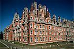 Royal Holloway College, Egham, Surrey, Angleterre, Royaume-Uni, Europe