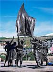 Statue de libération, St. Helier, Jersey, îles anglo-normandes, Royaume-Uni, Europe