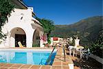 Villa près de Malaga, Andalousie, Espagne, Europe