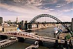 Ponts sur la rivière Tyne, Newcastle-upon-Tyne, Tyne et Wear, Angleterre, Royaume-Uni, Europe