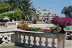 Casino et les jardins, Monte Carlo, Monaco, Europe