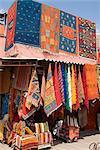 Carpets, Place de Criee, Souks, Marrakech, Morocco, North Africa, Africa