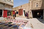 Biens à la vente, Medina (centre-ville), Tozeur, Tunisie, Afrique du Nord, Afrique