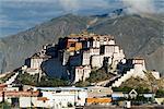 Palais du Potala, ancien palais du Dalaï-Lama, patrimoine mondial UNESCO, Lhassa, Tibet, Chine, Asie